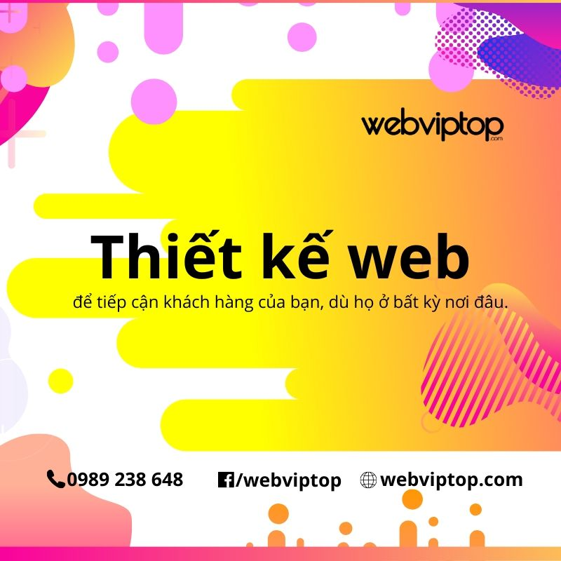 thiet ke website webviptop